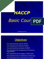 HACCP Basic Course