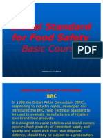Global Standards for Food Safety Basic Course