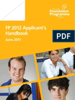 FP 2012 Applicants Handbook - FINAL