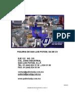 Catalogo Paileria de Slp Ene2010