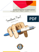 Speakers Pen Volume 2