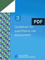 Guidelines for Quantitative Risk Assessment