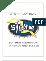 78-STORM Event Manual