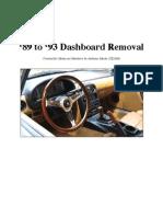 Mx5 Dash Removal
