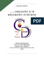Introducción a la educación Cristiana