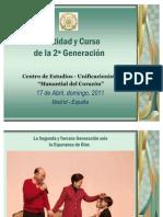 Jóvenes Unificacionistas - Identidad de la 2ª Generación y Ambito de vida