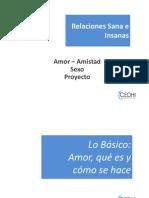 Relaciones Sanas vs Insanas