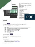 Alcatel Advanced Réflexes 4035