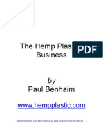 Hemp Plastics Industry