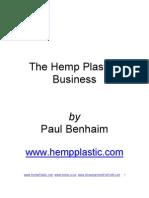 Hemp Plastics Industry