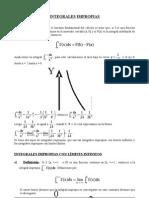 Clase Modelo - Integrales Impropias