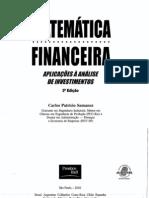 Matematica Financeira - Aplicações à Análise de Investimentos