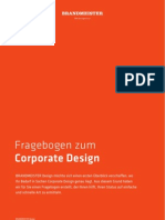 "Briefing Fragebogen ""Corporate Design"" von der Hamburger Werbeagentur BRANDMEISTER DESIGN"
