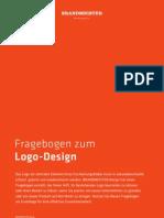 """Briefing Fragebogen """"Logo-Design"""" der Hamburger Werbeagentur BRANDMEISTER DESIGN"""