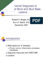 Skull Base Lesions