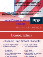 Local Diversity Assessment Project