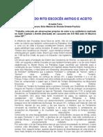 ORIGENS DO RITO ESCOCÊS ANTIGO E ACEITO