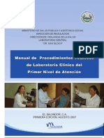 Manual Procedimientos Lab Clinico