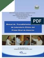 Manual Procedimientos Lab Clinico