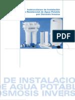 Manual de Osmosis de Cocina 50 Gpd
