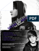 Digital Booklet - Never Say Never - The Remixes