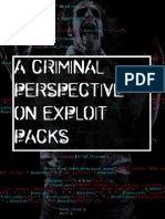 Criminal Perspective on Exploit Packs