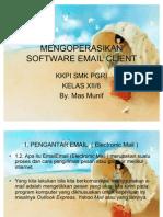 Mengoperasikan Software Email Clientn Modul KKPI
