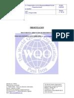 Doc.abr. NORMA The World Quality Organization 2100.08