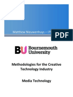 Methodologies for the Creative Technology Industry