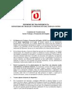 Resumen Informe Transfer en CIA MTPE