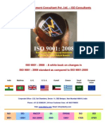 Revisions to ISO 9001•2008