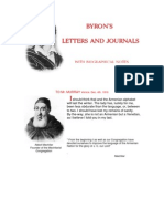 Byron's Letters and Journals with Bibliographical Notes