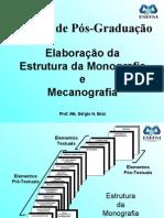 5 - ELABORAÇÃO DA ESTRUTURA DA MONOGRAFIA