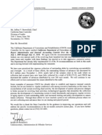070511 CDCR Letter to State Controller
