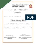 Carta de Buena Conducta 2011
