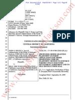 Proposed Order Granting Plaintiff Shotening Time