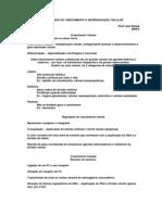 josiseixas-DISTÚRBIOS DO CRESCIMENTO E DIFERENCIAÇÃO CELULAR, guia de estudo
