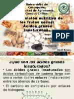 Composición nutritiva de los frutos secos