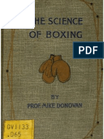 The Science of Boxing  Also Rules And Articles on Training, Generalship In The Ring and Kindred Subjects - Mike Donovan. 1893