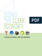 Sizing Up the Clean Economy