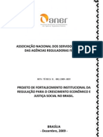 Projeto de Fortalecimento Instituciona da Regulaçõa(Associação Nacional dos Servidoares Efetivos das ARF)