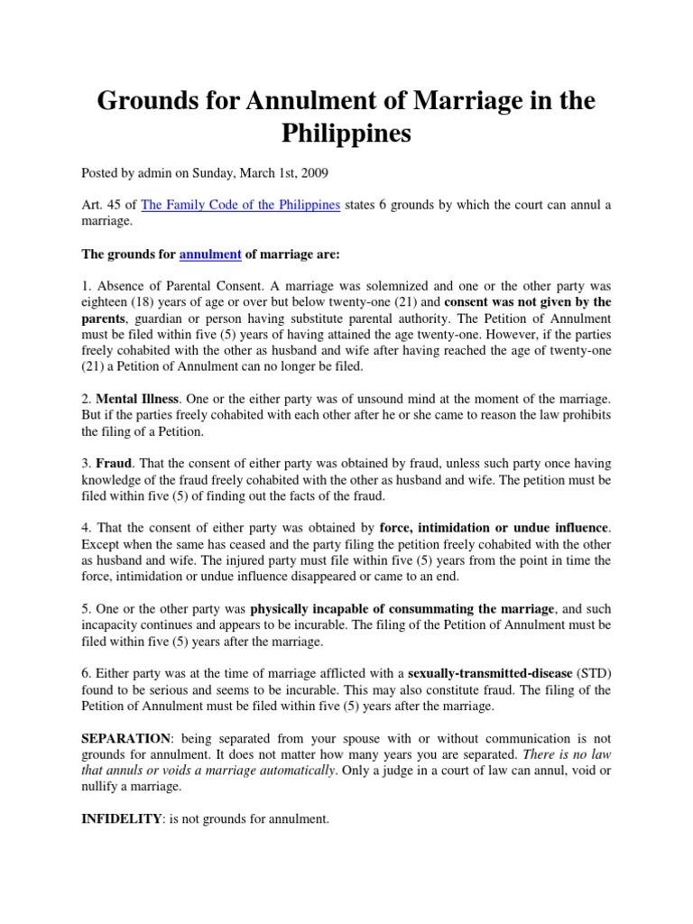 Annulment | Annulment | Marriage License