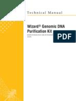 Promega Genomic Prep Protocol