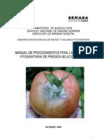 Manual Procedimientos Inspeccion Fitosanitaria Predios Seleccionados