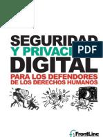 Seguridad Privacidad Digital
