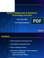 Audio Compression & Synthesis Technology