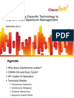 Understanding CleanAir Technology to improve enterprise WLAN spectrum management