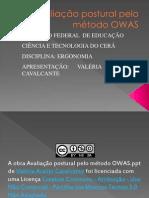 avaliacão - OWAS