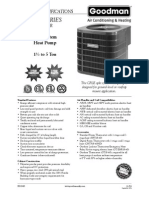 Goodman CPLE Series Spec Sheet