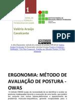 Ergonomia-método Owas